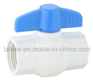Plastic Compact Ball Valve for Water Supply with ISO9001: 2008 (F*F, BSPT, NPT) pictures & photos