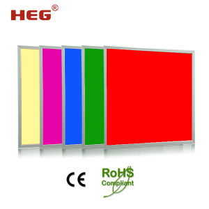 CE/RoHS RGB 60X60 Cm LED Panel Lighting