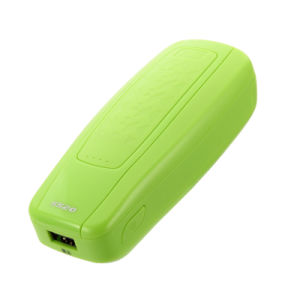 Portable Green Color Power Bank 5200 mAh for Android Cell Phone