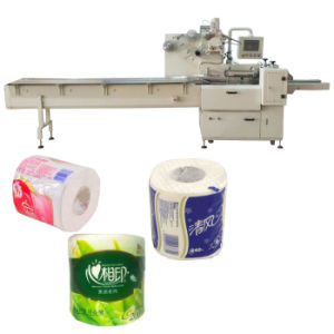 Servo Motor Toilet Paper Wrapping Machine pictures & photos