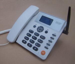 2 SIM Card GSM Desktop Phone/GSM Fwp pictures & photos