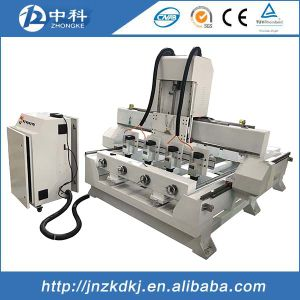Good Quality 4 Spindles Rotary CNC Machine pictures & photos