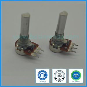 9mm 100k Ohm Rotary Potentiometer with Metal Shaft for Audio Equipment pictures & photos