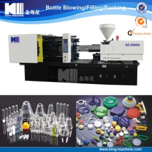 Plastic Cap Injection Molding Machine with High Quality pictures & photos