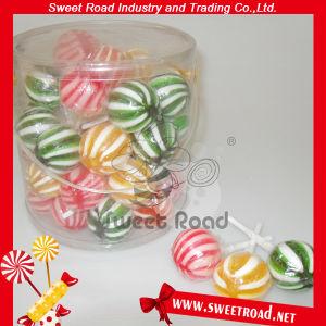Color Stripe Ball Sweet Lollipop