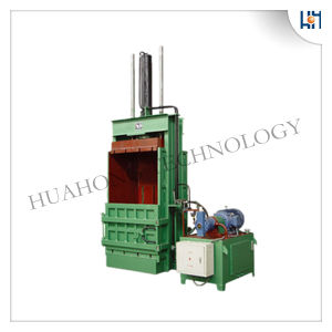 Waste Paper Vertical Baler Machine pictures & photos