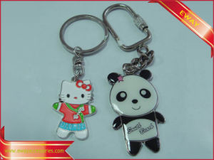 Metal Keychain Promotion Gift Keychain Lovely Animal Keychain pictures & photos