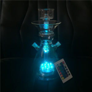 Blue Light of Glass Hookah