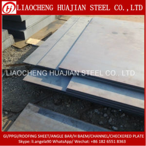 ASTM A36 Hot Rolled Carbon Steel Plate for Building pictures & photos