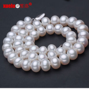 8-9mm Classic Natural Fresh Water Pearl Necklace Jewellery (E130012) pictures & photos