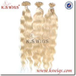 Hair Extension Virgin Remy Hair Keratin Hair Human Hair pictures & photos