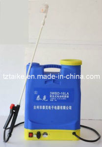 Taike Battery Sprayer/Electric Sprayer (3WBD-16L) pictures & photos
