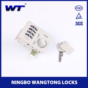 4 Digits Cabinet Locker Combination Lock pictures & photos