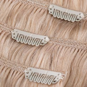 Double Drawn Remy Clip on Human Hair Extension pictures & photos