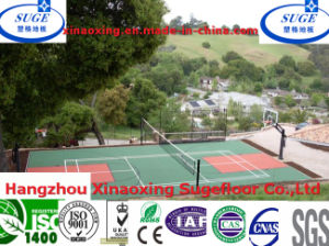 Eco Friendly Basketball Flooring Shockproof for Basketball Sport pictures & photos