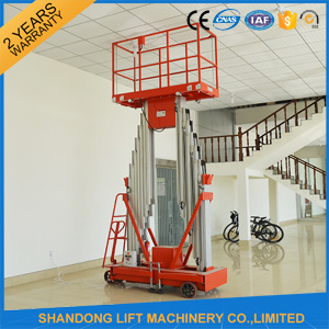 6m Aluminum Mobile Hydraulic Lift Platform for Prepairing pictures & photos