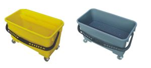 Utility Bucket with Gray and Yellow Color (YG-83) pictures & photos
