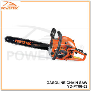 Powertec 5200 Gasoline Chain Saw (YD-PT06-52) pictures & photos