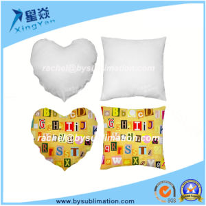 Personal Gift Soft Sublimation Polyester Pillow Cover pictures & photos