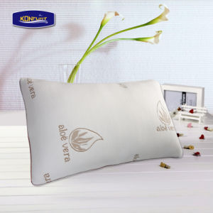 Made in China Aloe Vera Shredded Memory Foam Pillow pictures & photos