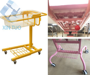 Factory Direct Price Medical Hand Cart/Baby Trolley/Baby Crib pictures & photos