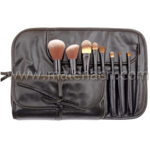 Hot Sales Synthetic Hair 9PCS Makeup Brush pictures & photos