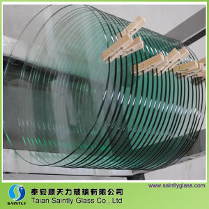 6mm Round Tempered Decorative Glass Panel for LED Lighting pictures & photos