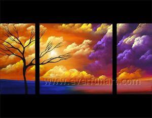 Beautiful Landscape Oil Painting on Canvas for Decor (LA3-153) pictures & photos