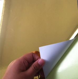Golden Aluminum Foil Paper (WBL-A001)
