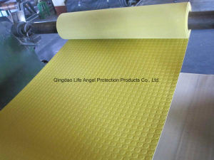 3mm Thickness Non Skid Coin Shape Rubber Sheets