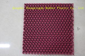3G PVC S Mat Plastic Roll Bath Mat/PVC Floor Mat (S-8D) pictures & photos