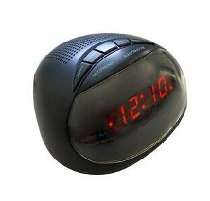 Digital Pll Am/FM LED Alarm Clock Radio Receiver