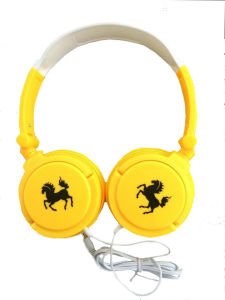 3.5mm Stereo Colored Fashion Computer Headphone (LS-L72)