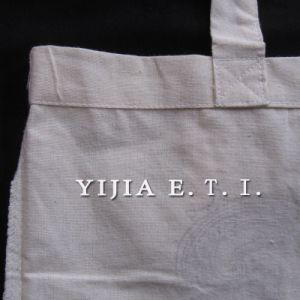 Eco Friendly Long Handle Standared Size Cotton Bag pictures & photos