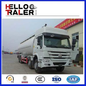 China Sinotruck 8X4 Dry Cement Bulk Tanker Truck pictures & photos