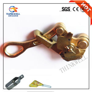 Forged Galvanized Alloy Steel Wire Rope Cable Grip pictures & photos