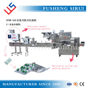 Automatic Medicine Board Packaging Machine with Desiccant Dispensing Machine pictures & photos
