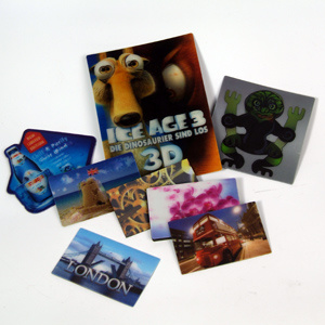 Fashion Clear 3D Lenticular Fridge Magnet pictures & photos