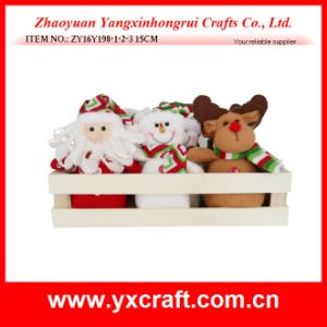 Christmas Decoration (ZY16Y198-1-2-3 15CM) Box of Christmas Story pictures & photos