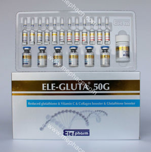 Gluta Glutathione Injection for Skin Whitening, 100g/ 50g/ 30g/ 10g pictures & photos