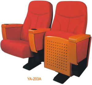 Theater Chair Cinema Seating with Cup Holder Ya-203A pictures & photos