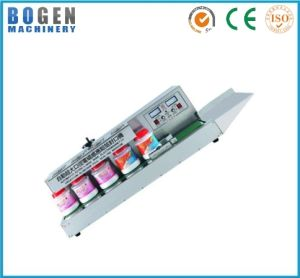Continuous Aluminum Foil Sealing Machine for Bottles pictures & photos