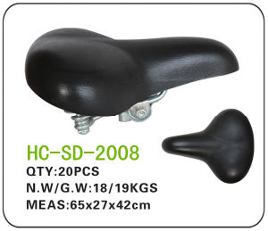 Leather Lady Bicycle Saddle (SD-2008) pictures & photos