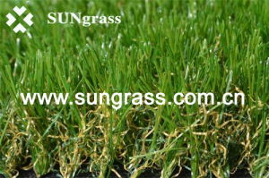 High Anti-UV Synthetic Grass for Tropics, Garden, Roadside, Beautifying City (SUNQ-AL00005) pictures & photos