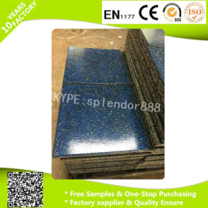 Interlocking Commercial Gym Rubber Tiles pictures & photos