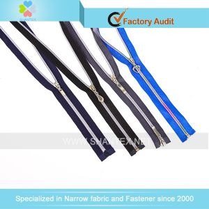 No. 5 Silver Nylon Zipper pictures & photos