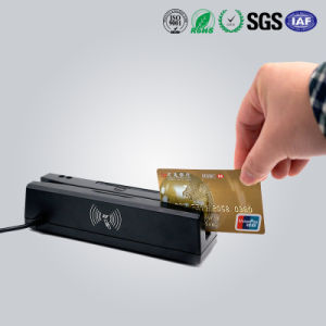 Magnetic Stripe & IC Card & RFID Card Combo Reader&Writer with USB Interface pictures & photos