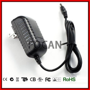 UL Switching Power Supply Adaptor 12V 05A, 0.7A; 1A; 1.2A; 1.5A; 2.0A2.5A; 3.0A; 4.0A; 5.0A pictures & photos