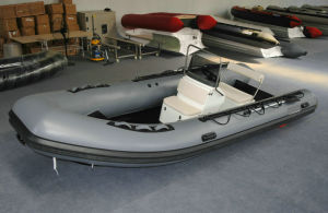 5.2m Inflatable Boat, Rib Boat, Fishing Boat, PVC or Hypalon Sport Boat Rib520A with Aluminum Hull pictures & photos