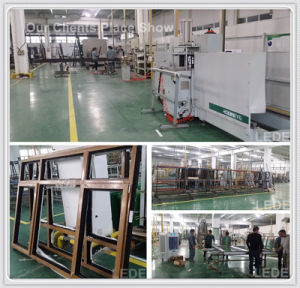 UPVC Welding Machine Transfering and Corner Cleaning in 1 Production Line Finish pictures & photos